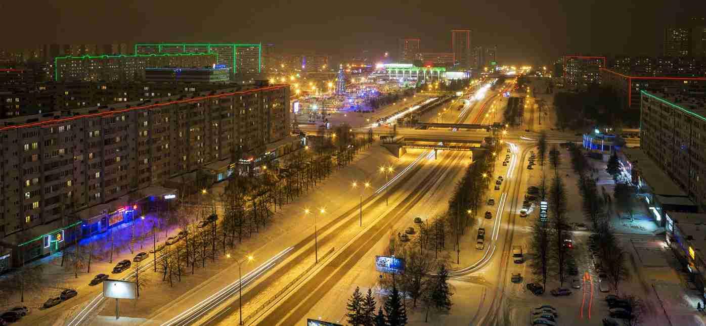 Грузоперевозки Москва - Набережные Челны