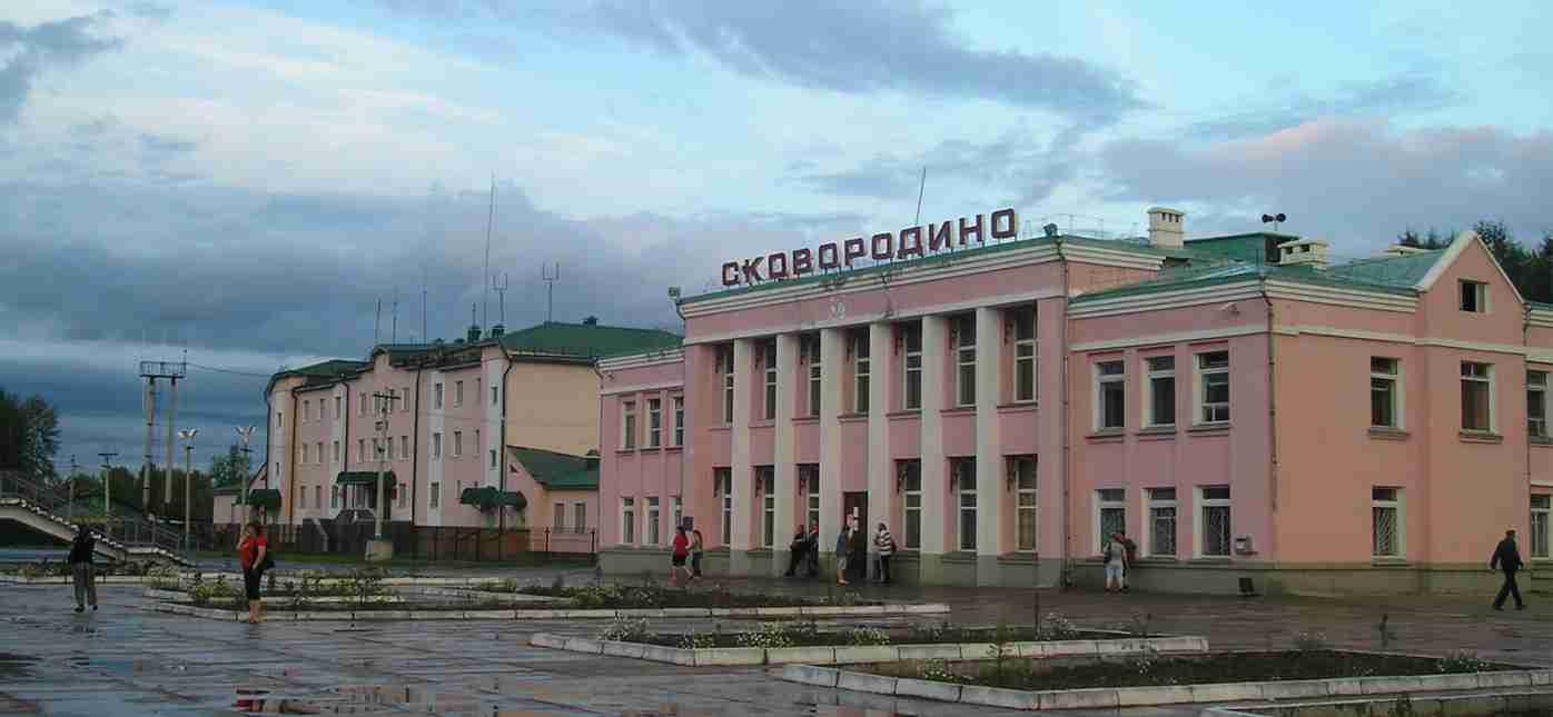 Грузоперевозки Москва - Сковородино