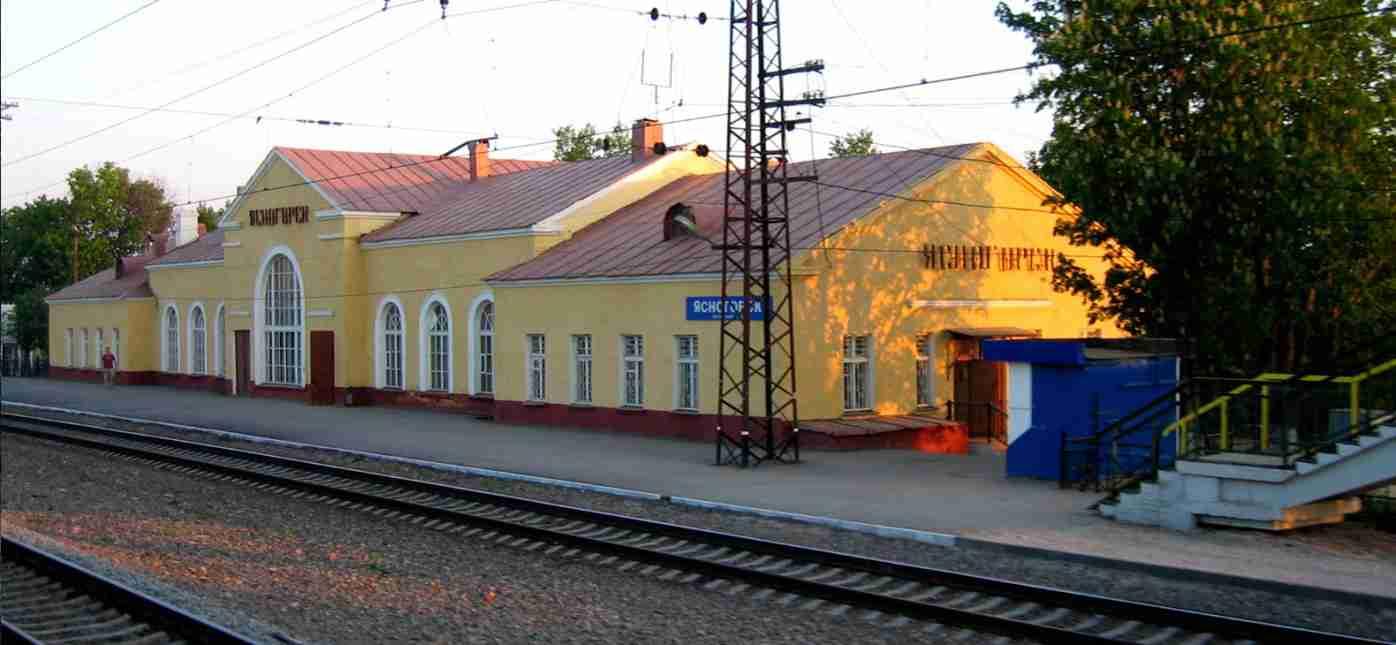 Грузоперевозки Москва - Ясногорск