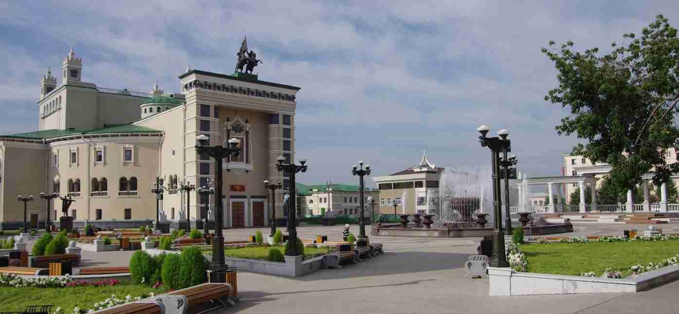 Грузоперевозки Москва - Улан-Удэ