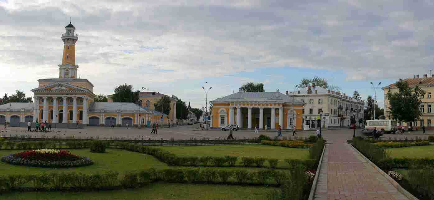 Грузоперевозки Москва - Кострома