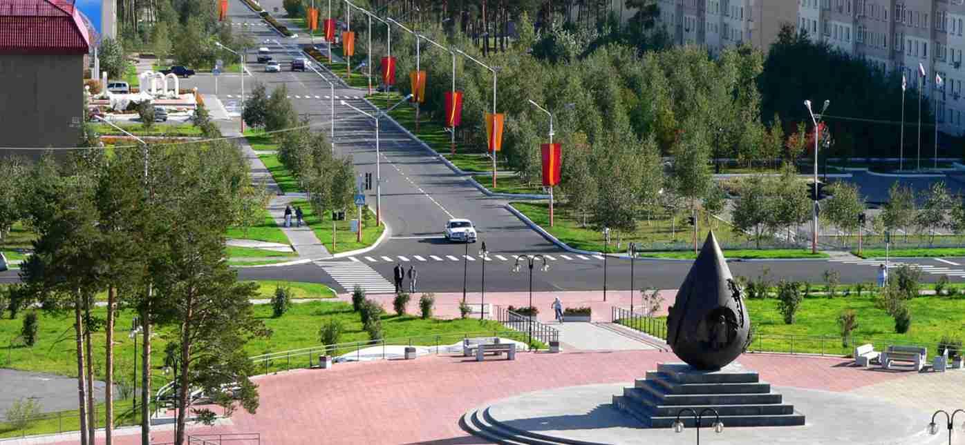 Грузоперевозки Москва - Когалым