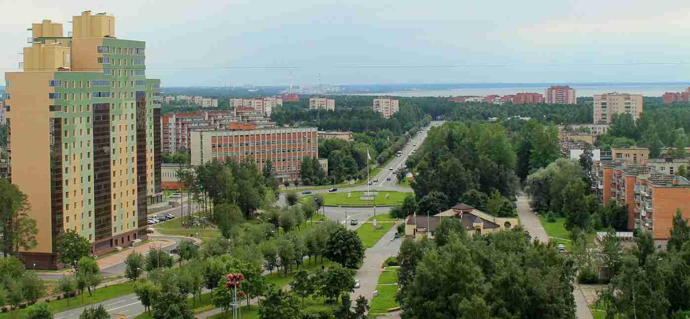 Грузоперевозки Москва - Сосновый Бор